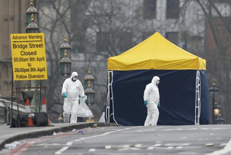 تصاویر : یک روز پس از حادثه لندن