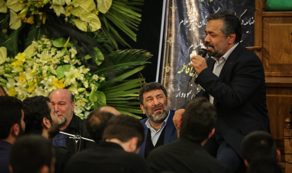 تصاویر : چهره ها در مراسم ترحیم پدر سید مجید بنی فاطمه