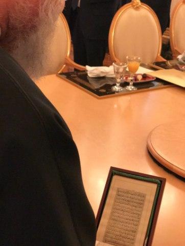 عکس/ هدیه پوتین به روحانی
