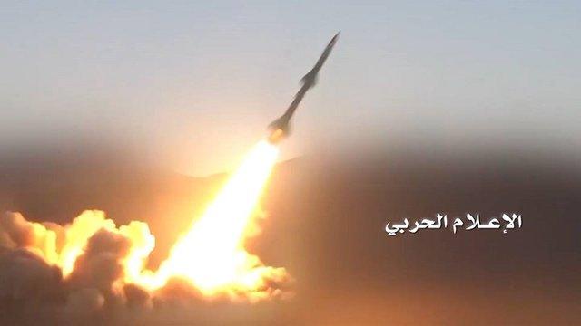 انصارالله یک موشک بالستیک جدید به سوی عربستان شلیک کرد