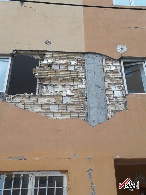 مسکن مهر در ز له تهران هم «ترک» برداشت +ع