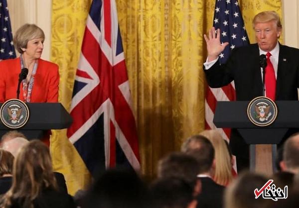 دیلیمیل: سفر ترامپ به انگلیس لغو شد