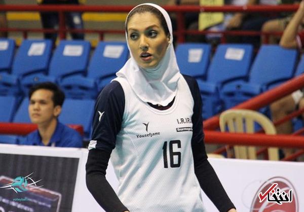 همسر کاوه رضایی در آستانه امضا قرارداد با تیم والیبال شارلوا