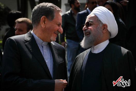 عضو حزب کارگزاران: کمرنگ شدن نقش جهانگیری در دولت و استعفای او شایعه است/ دولت روحانی بدون جهانگیری قابل تصور نیست