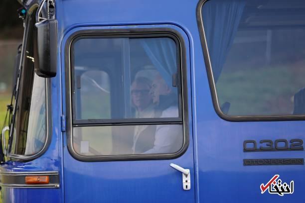 عکس/ رانندگی نخست وزیر ترکیه با اتوبوس