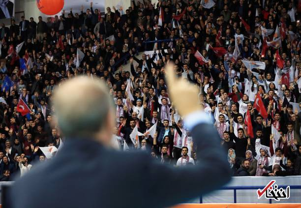 عکس/ گلریزان برای اردوغان