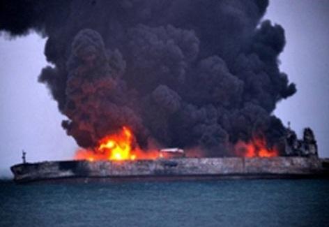 پایان غمبار سانچی/ یک منبع آگاه: فوت تمامی خدمه نفتکش ایرانی تایید شد