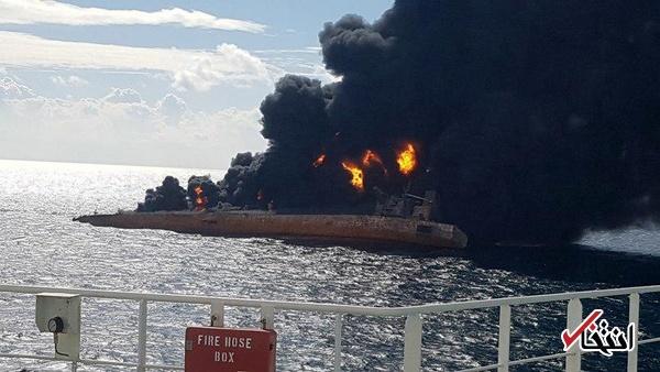 سازمان بنادر: پیکرهای دریانوردان ایرانی نفتکش سانچی را نمیتوانیم از کشتی خارج کنیم