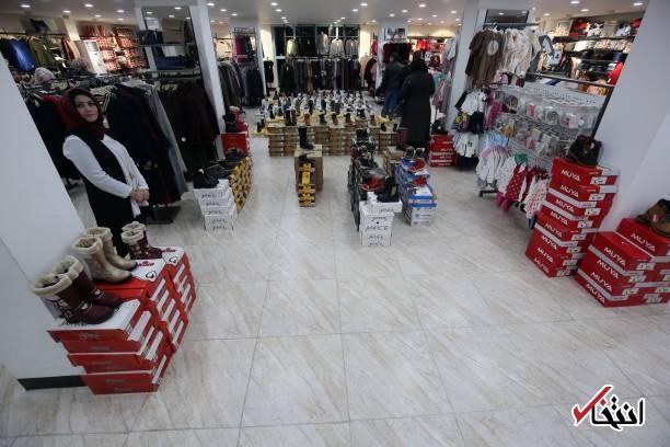تصاویر : فروشگاه پوشاک و رستوران لوکس در موصل