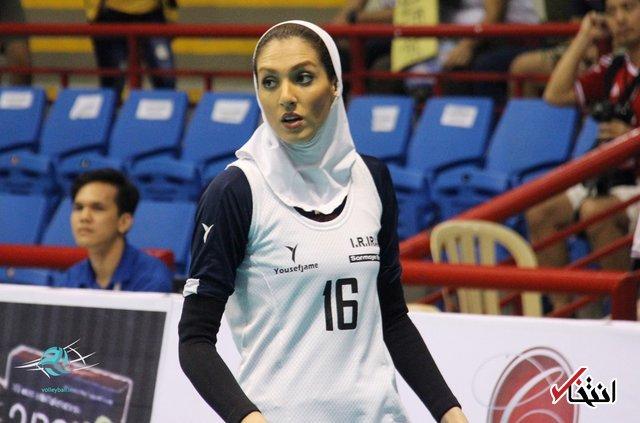 موافقت بلژیک با حضور همسر کاوه رضایی با پوشش اسلامی در لیگ والیبال این کشور