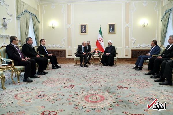رئیس  جمهور در دیدار رئیس مجلس لبنان: چاره ای جز بازگرداندن ثبات به منطقه وجود ندارد