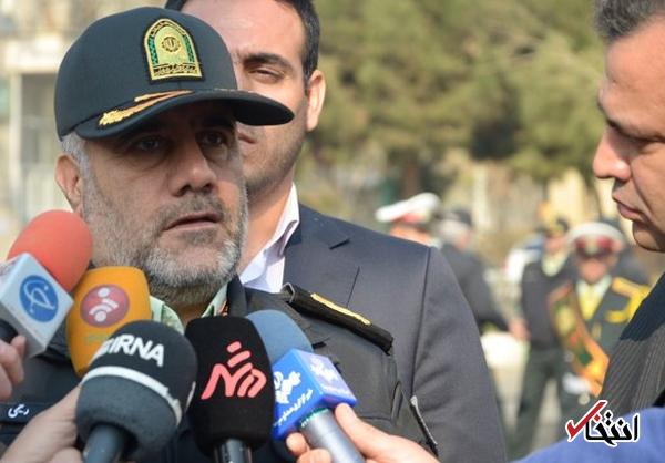 رییس پلیس تهران: در وقایع اخیر، پلیس اجازه نداد کسی امنیت مردم را خدشه دار کند