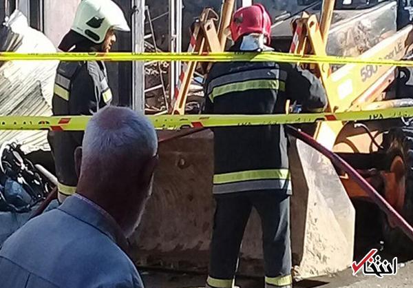 راننده بیل مکانیکی حادثه انفجار گاز اسلامشهر بازداشت شد