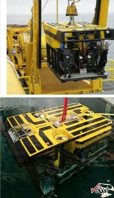 تصاویری از ربات زیردریایی که امروز به سانچی می رود