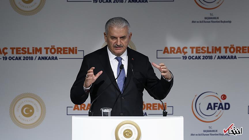 نخست وزیر ترکیه: با تهدید امنیت مرزی خود مقابله خواهیم کرد / به نصیحت هیچ کس نیاز نداریم