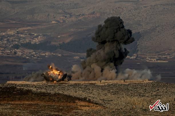 اسماعیل د تصاویر: حمله نظامی ارتش ترکیه به منطقه عفرین در شمال سوریه ...