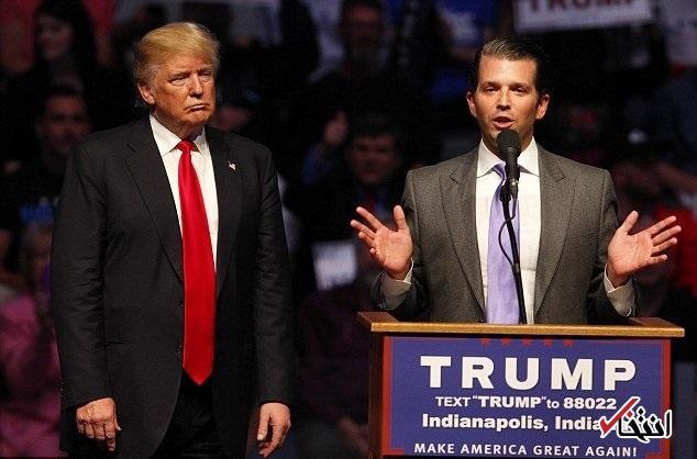 پسر ترامپ: دموکرات ها «کمونیست فوق چپ» هستند / شرایط آمریکا در انتخابات 2016 را درک نکرده اند / محبوبیت پدرم 10 درصد افزایش یافته