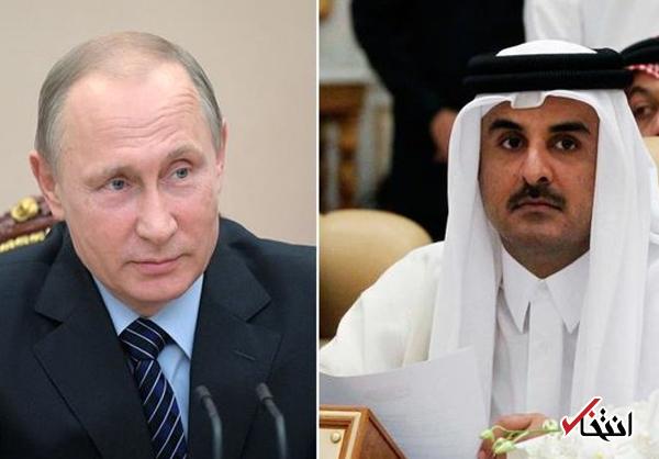دعوت پوتین از امیر قطر برای سفر به مسکو