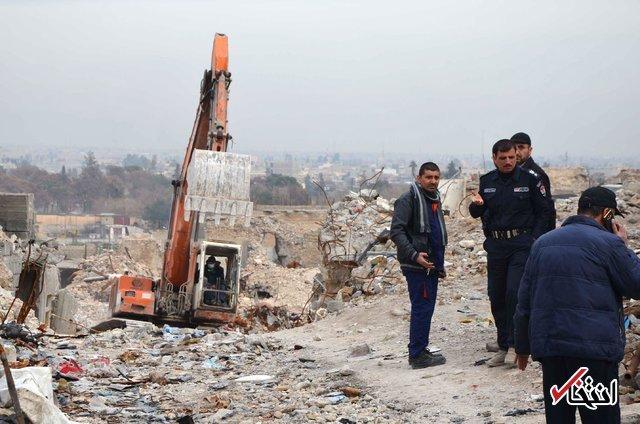 موصل شهر اجساد داعش؛ تنفس با بوی تعفن + عکس
