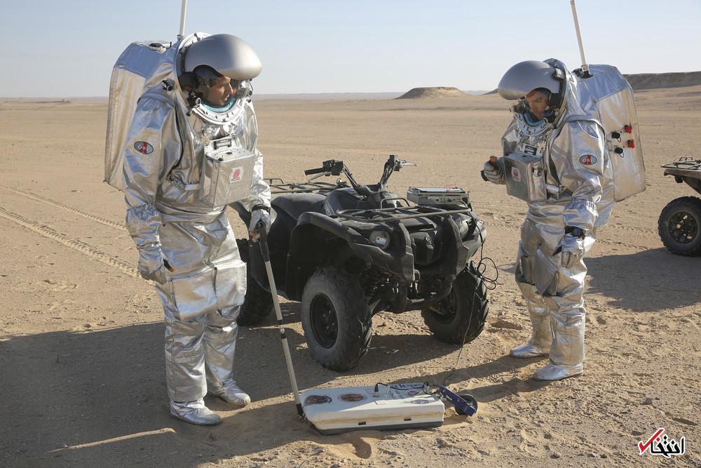 تصاویر : شبیهسازی اسکان بشر در مریخ در کویر ظفار عمان