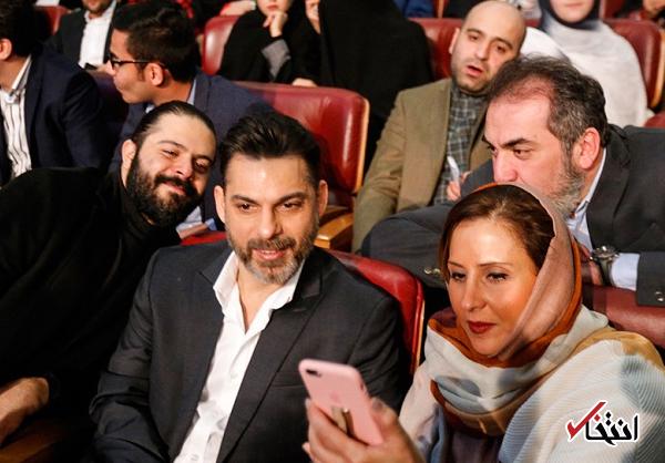 حواشی اختتامیه جشنواره فیلم فجر / جو غیرهنری و واکنشهای عجیب در طول مراسم / صندلی هایی که معلوم نبود از طرف چه افرادی اشغال شده