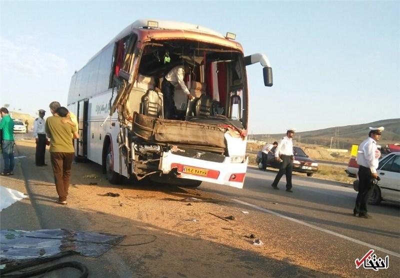 2 فوتی و 31 مصدوم در تصادف اتوبوس با کامیون و پراید در خراسان رضوی