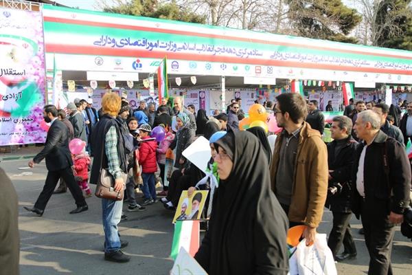 حضور بانک کشاورزی در راهپیمایی یوم الله 22 بهمن