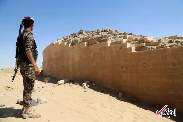 تصاویر : کاخ ملکه سبأ در مأرب یمن