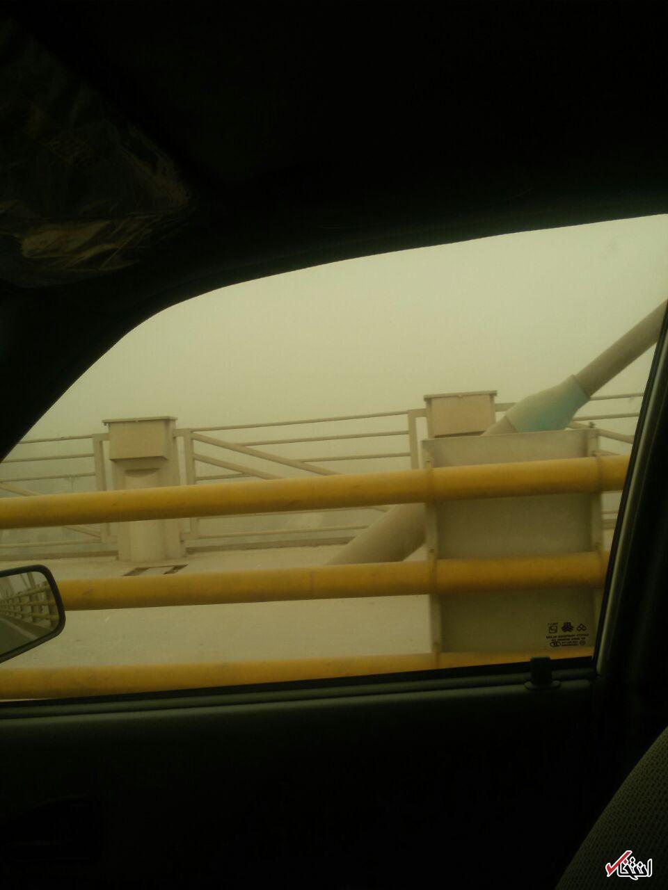 غلظت گردوغبار در اهواز به 57 برابر حد مجاز رسید +تصاویر / چرا هیچ مسئولی به فکر نیست؟