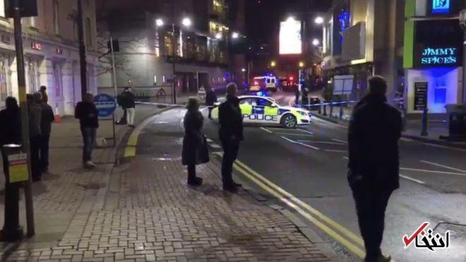 تخلیه سالن تئاتر در پی وقوع انفجار در بیرمنگام انگلیس
