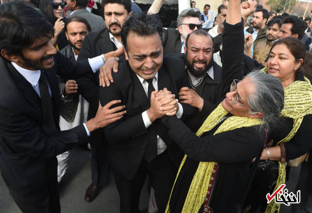تصاویر : تشییع جنازه عاصمه جهانگیر گزارشگر سازمان ملل در امور حقوق بشر ایران