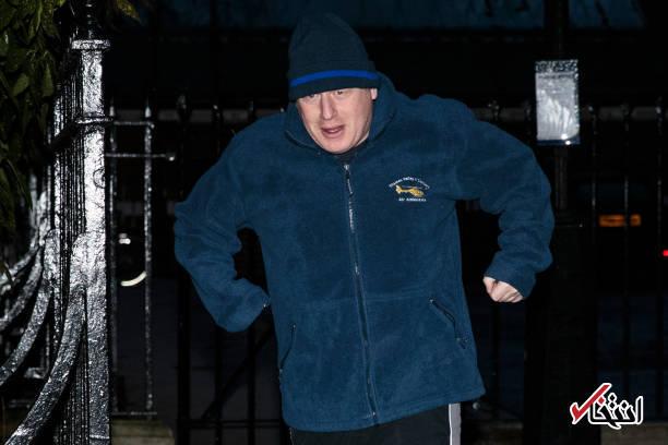 عکس/ ورزش صبحگاهی وزیر خارجه انگلیس