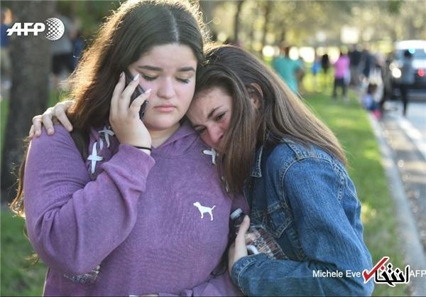 تیراندازی مرگبار در دبیرستانی در فلوریدا / 20 نفر کشته شدند +فیلم