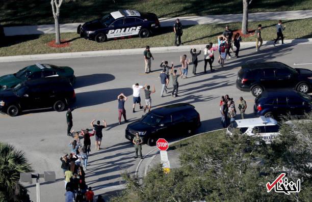 تصاویر : تیراندازی مرگبار در دبیرستانی در فلوریدای