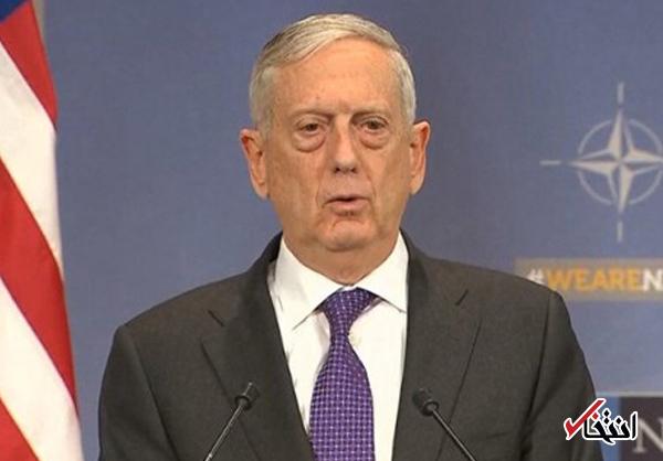 ادعای وزیر دفاع آمریکا: هر جا مشکلی هست، ایران حضور دارد / باید سوریه را به سوری ها بسپاریم