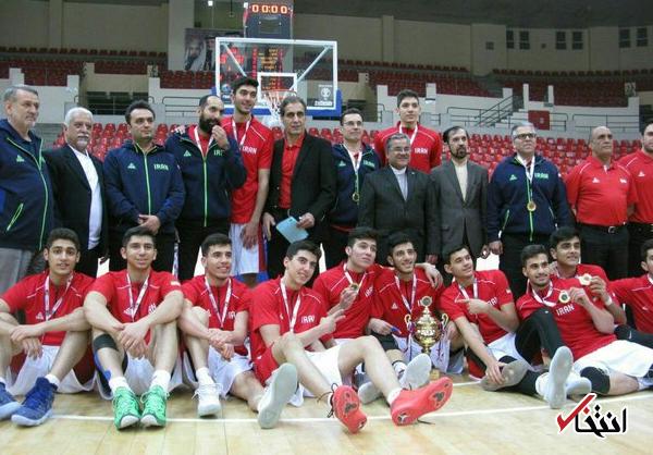 ایران قهرمان بسکتبال جوانان غرب آسیا شد
