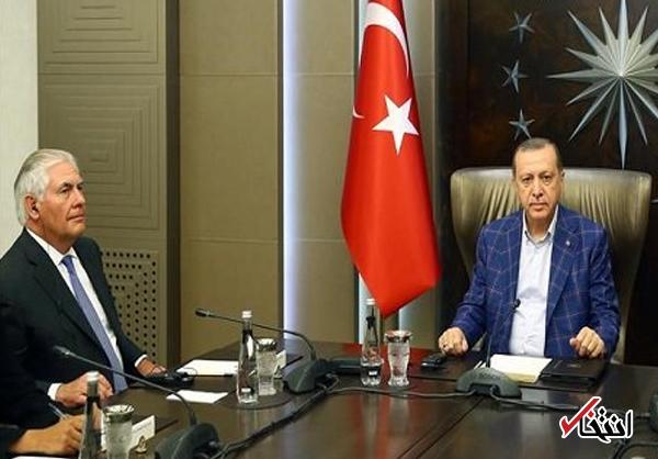 سی ان ان: دیدار 3.5 ساعته تیلرسون با اردوغان، بدون حضور مترجم آمریکایی انجام شد / این کار احمقانه است