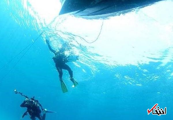 غواصان به لاشه نفتکش رسیده اند / احتمال ورود به سانچی در عمق ۱۱۵ متری