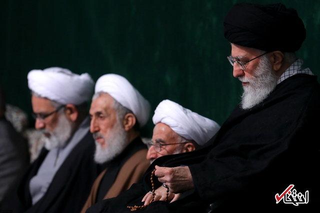 پخش مراسم عزاداری حضرت زهرا(س) با حضور رهبر معظم انقلاب