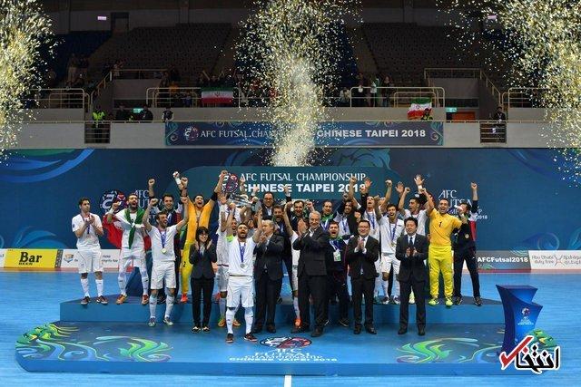 فوتسال ایران در رده ششم جهان/ قهرمانی اروپا باارزش تر از آسیا