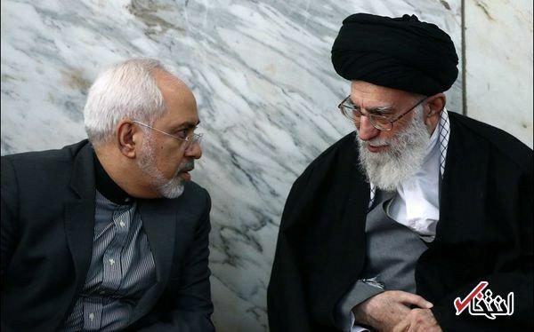 تشکر رهبر معظم انقلاب از ظریف