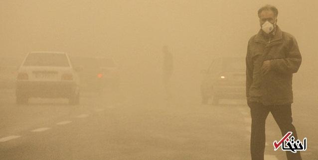 پیش بینی گرد و خاک برای ۱۲ شهر خوزستان در روز دوشنبه