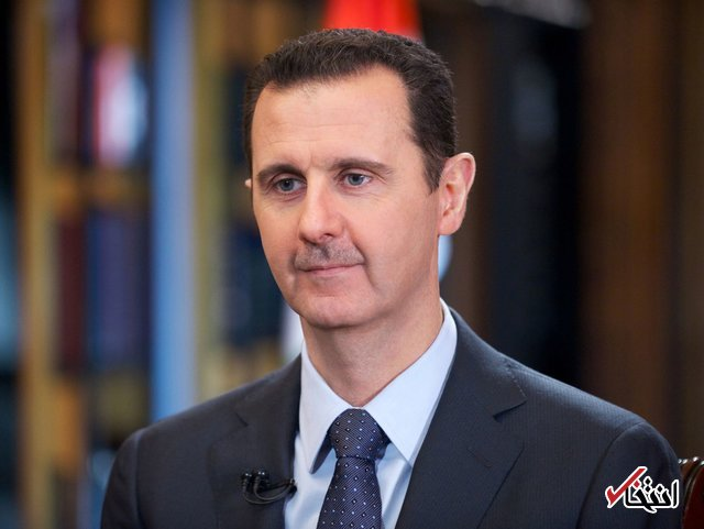 بشار اسد حادثه سقوط هواپیمای تهران - یاسوج را به روحانی تسلیت گفت