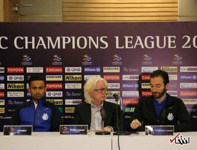 شفر: دوست داشتم در ورزشگاه آزادی بازی کنیم / الهلال بازیکنان گران دارد، ما روحیه تیمی