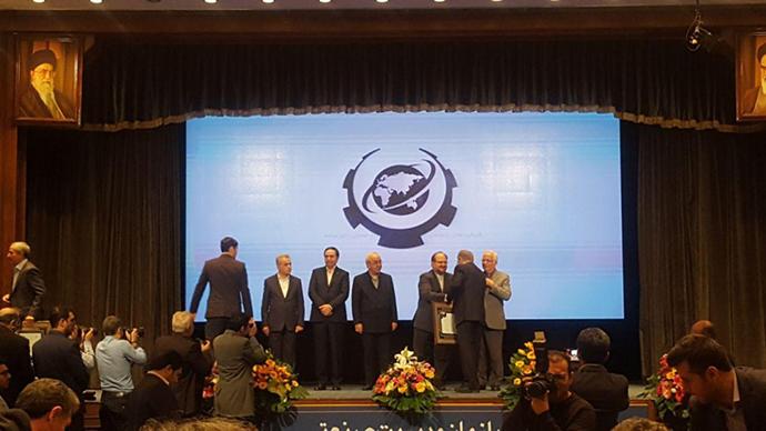 میدکو، به عنوان شرکت برتر صادرات گرا برگزیده شد