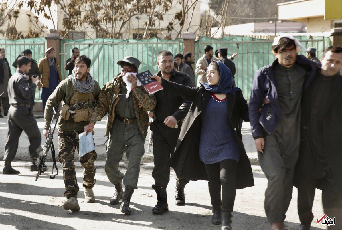 تصاویر : انفجار انتحاری با آمبولانس در کابل