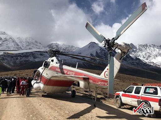 جست و جوی 40 تیم تخصصی هلال احمر در روز سوم حادثه سقوط هواپیما