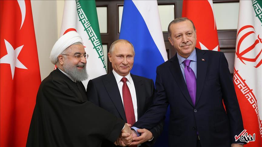 کرملین: روحانی، پوتین و اردوغان ماه آوریل در آنکارا دیدار می کنند