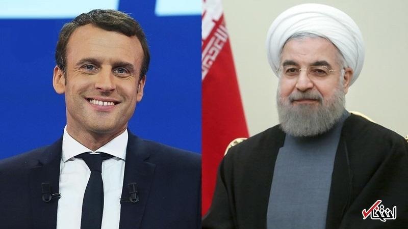 روحانی در تماس تلفنی با مکرون: ایران خواستار یک رابطه باثبات با فرانسه است/ آمریکا همواره در اجرای برجام کارشکنی کرده است/ گفتگوهای ایران و اروپا ربطی به برجام ندارد