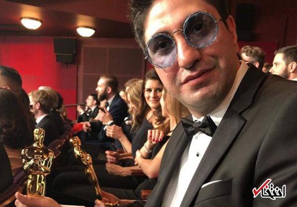 دو ایرانیدر فیلم برنده اسکار 2018 +عکس